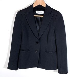 Max Mara | Two Button Blazer Jacket Made in Italy
